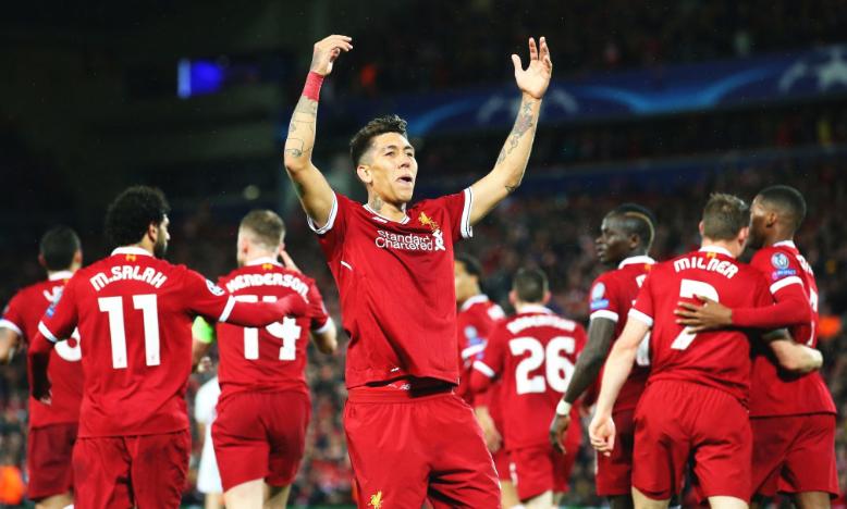 هدف فيرمينو القاتل يمنح ليفربول الفوز على سان جيرمان بدوري أبطال أوروبا
