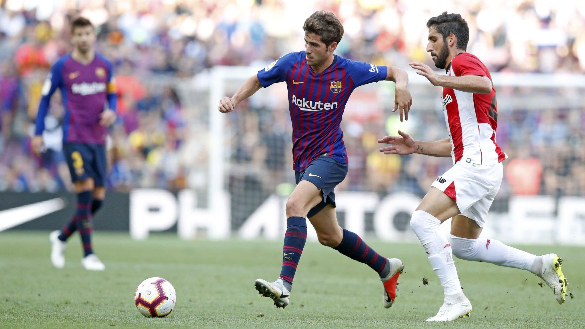 اتليتك بيلباو يضاعف معاناة برشلونة بتعادل بالكامب نو في الدوري الإسباني