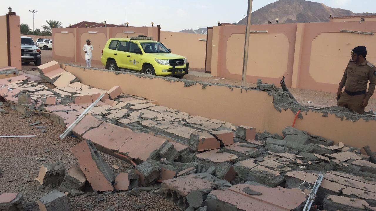 سقوط مقذوفات عسكرية حوثية على منزل بمحافظة العارضة السعودية