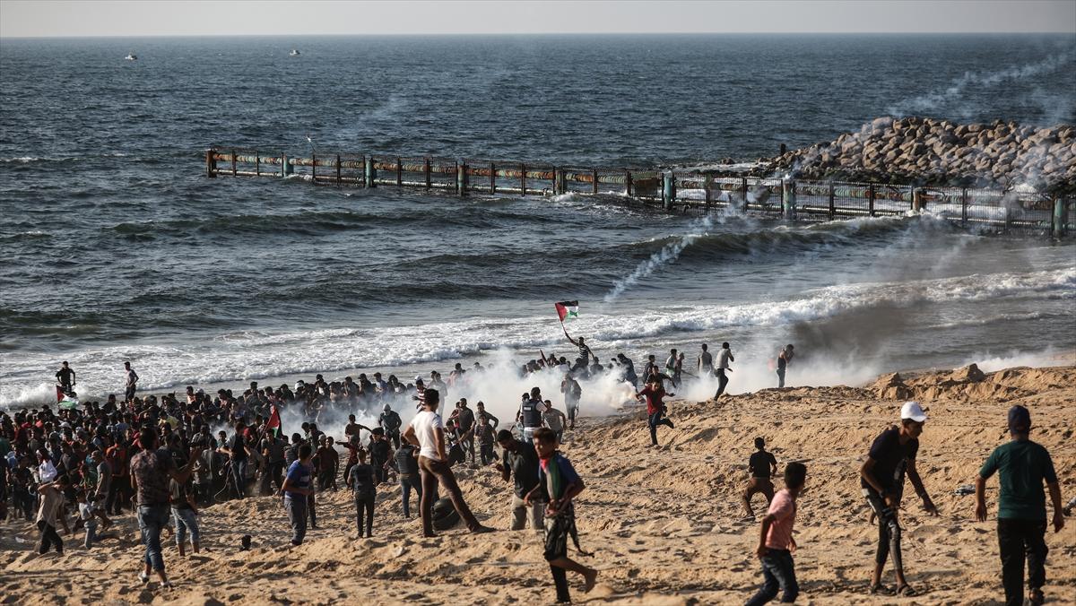 إصابة 4 مواطنين برصاص الاحتلال الإسرائيلى قبالة شاطئ شمال غزة