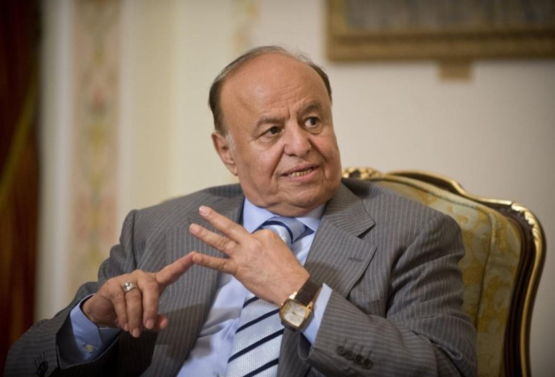 الرئيس اليمنى : السعودية تواجه حروبا لوقوفها بجوار اليمن لوقف المد الفارسى