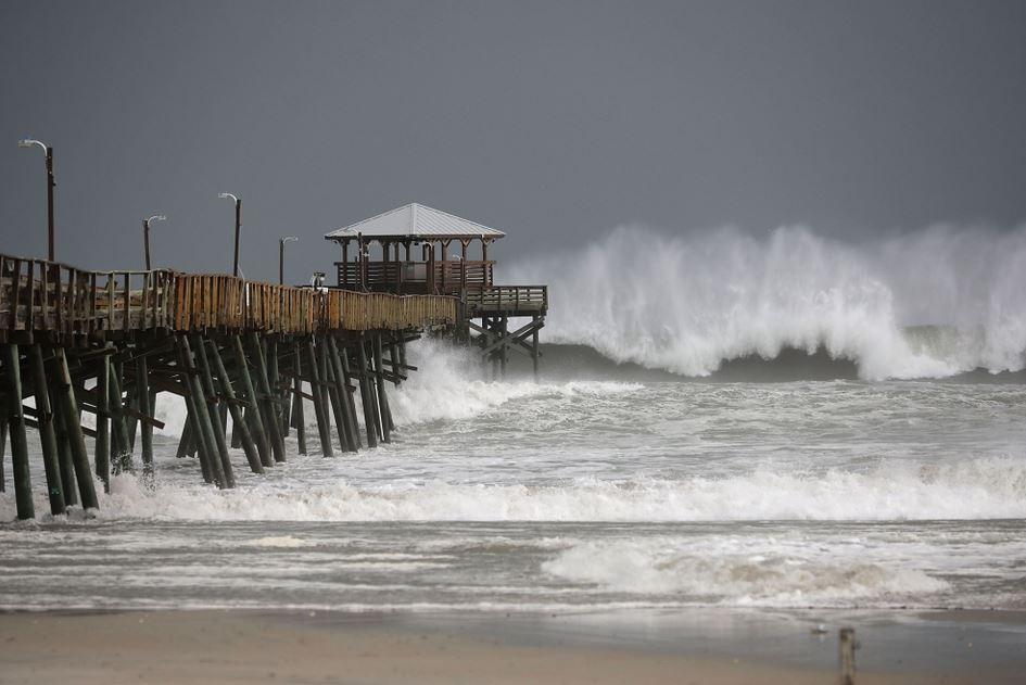 أمريكا : ارتفاع حصيلة ضحايا إعصار فلورنس إلى 7 أشخاص