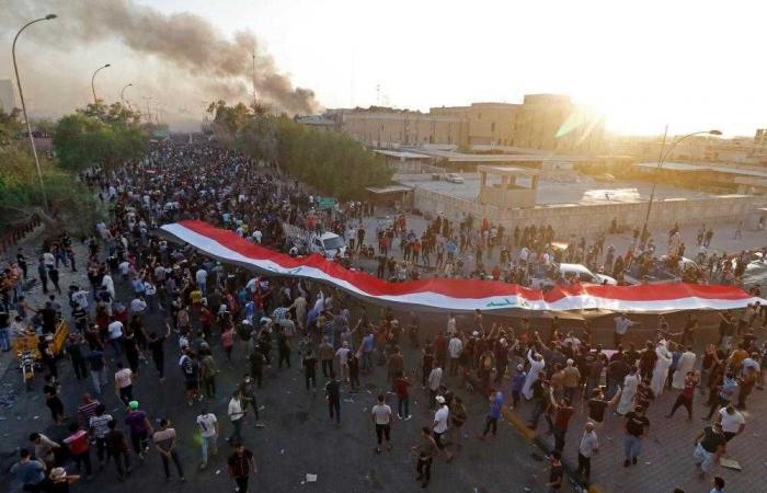 الصحة العراقية : 57 قتيلا وجريحا ضحايا اضطرابات البصرة أمس