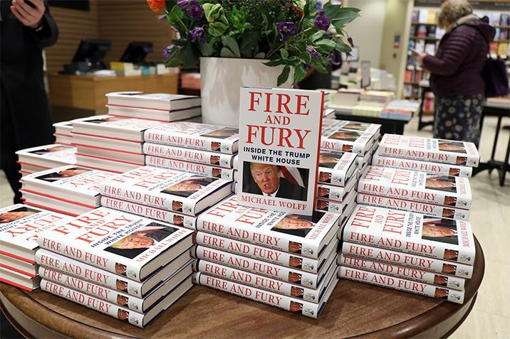 الرئيس الأمريكي يرفع مبيعات الكتب إلى مستويات قياسية