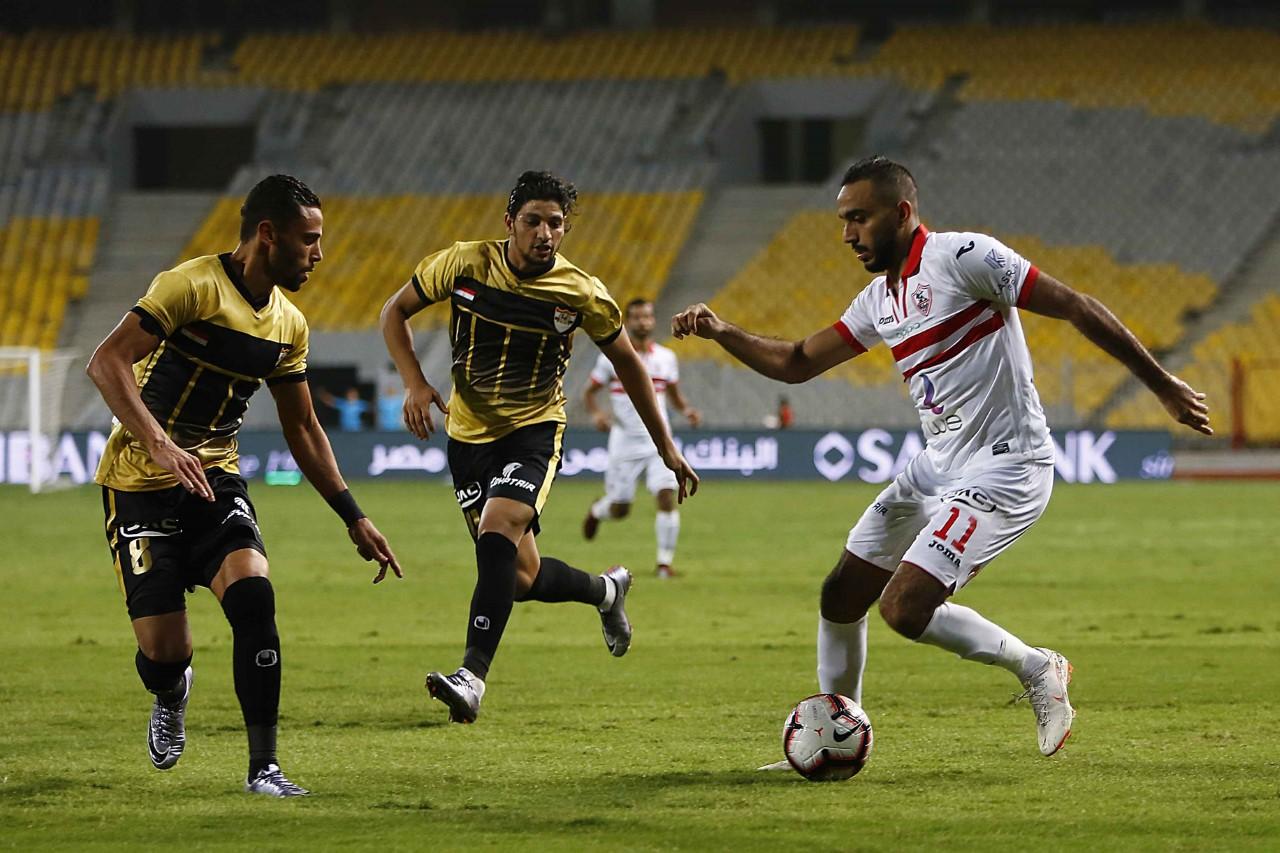 صور | الزمالك يصعد لـ ربع نهائي كأس مصر بعد الفوز 2-0 على الإنتاج الحربي