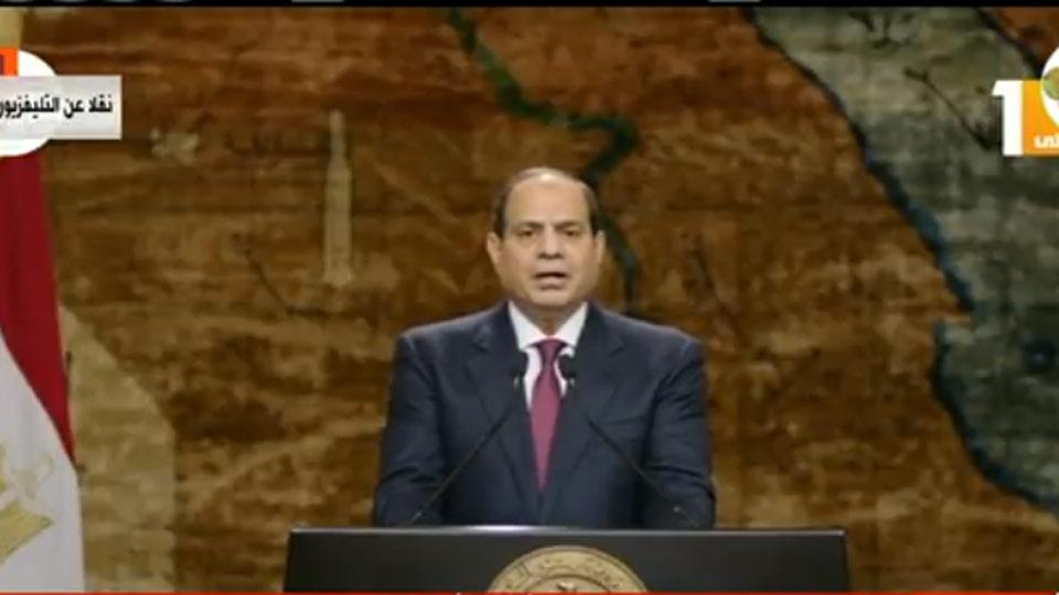 بالفيديو / في ذكرى انتصارات أكتوبر..الرئيس يوجه تحية لعبد الناصر والسادات