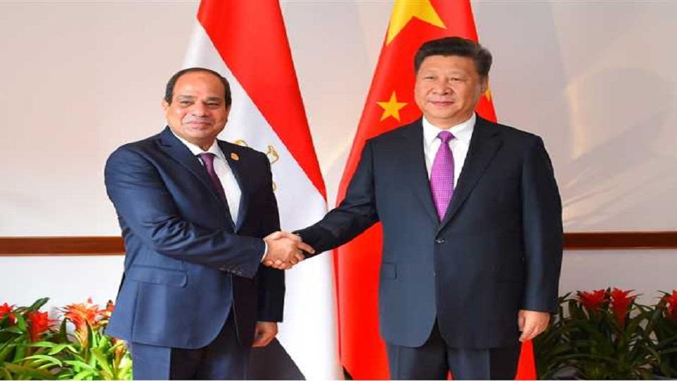 «شينخوا» : دعم قيادتي مصر والصين يمنح العلاقات بين البلدين قوة دفع غير مسبوقة