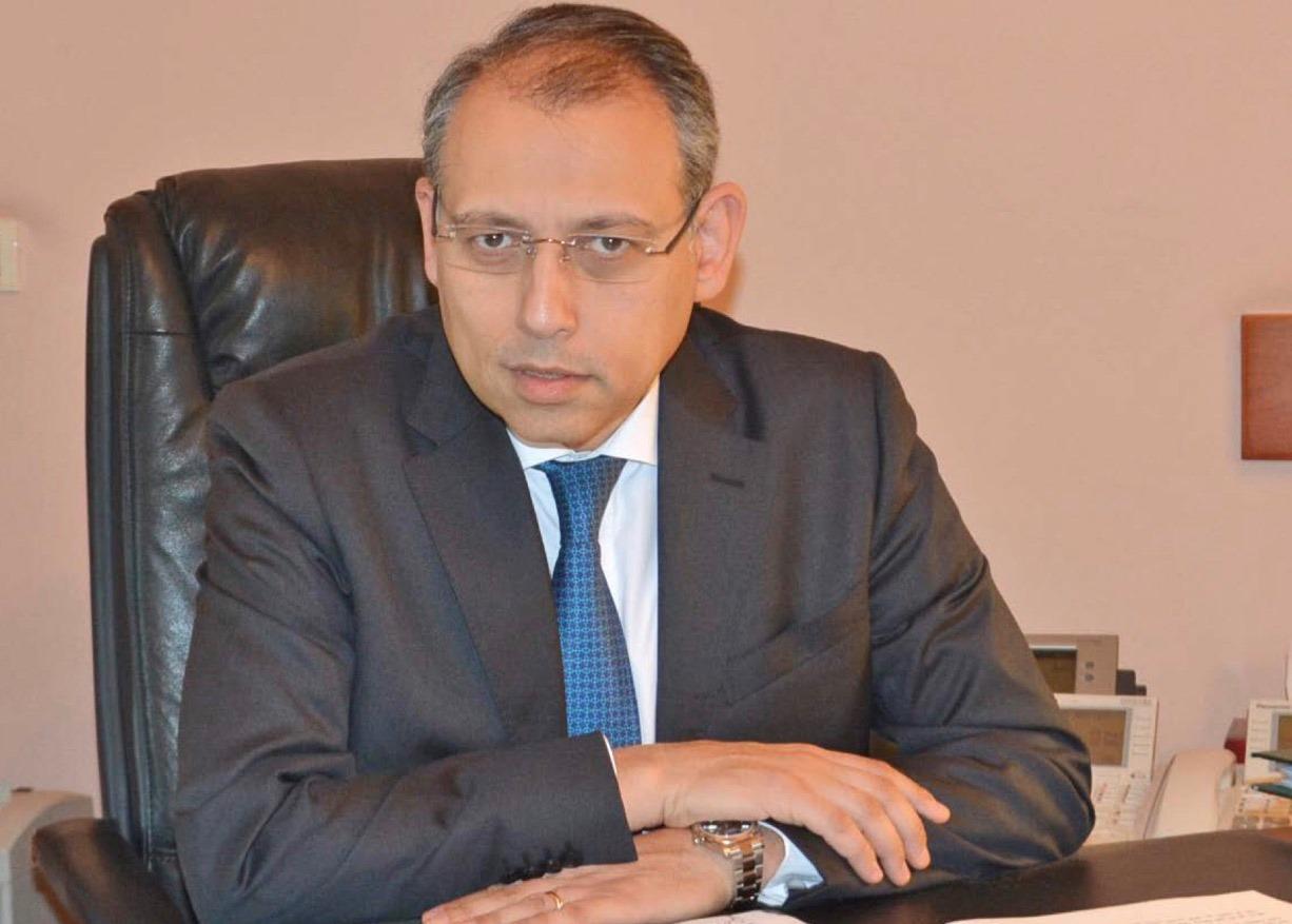 سفير مصر فى بيروت يبحث مع رئيس الوزراء اللبنانى الأسبق العلاقات الثنائية