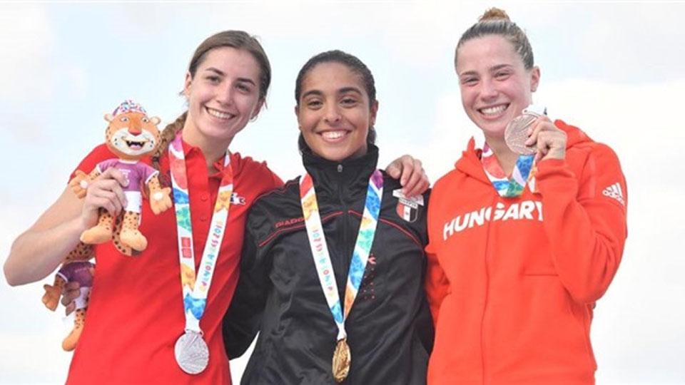 سلمى أيمن تسجل اسم مصر في تاريخ أولمبياد الشباب