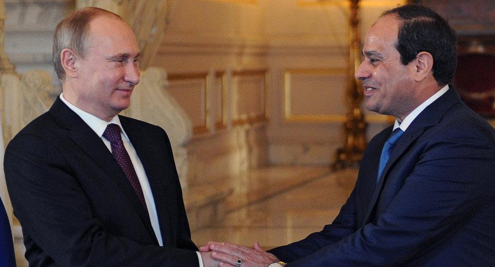 السيسي يبحث مع بوتين عودة السياحة الروسية ومستجدات المشروعات المشتركة
