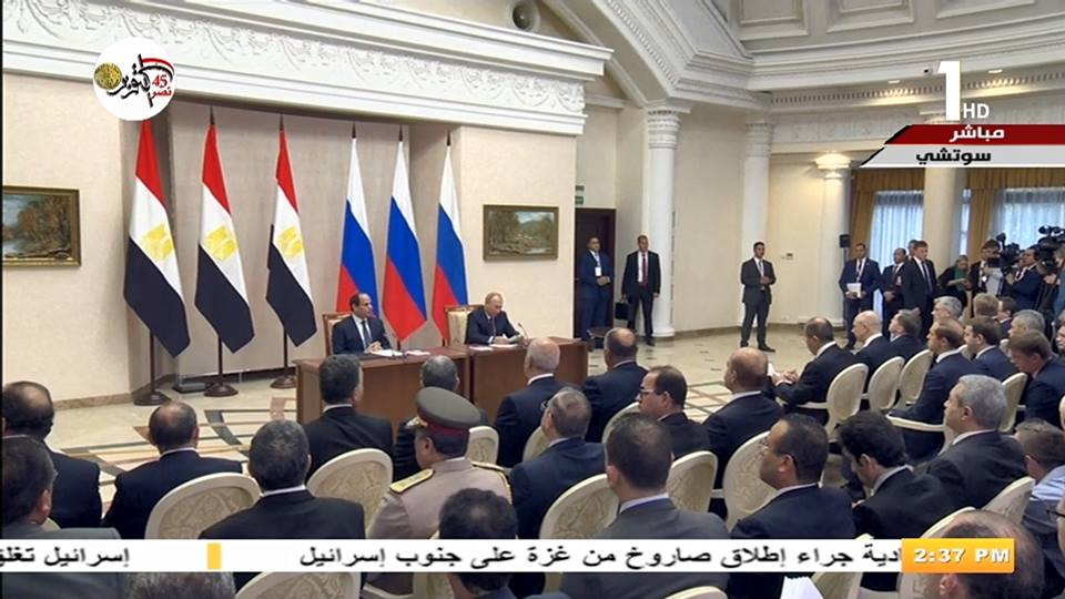 السيسي: العلاقات المصرية الروسية اكتسبت زخما على مدار الأعوام الماضية