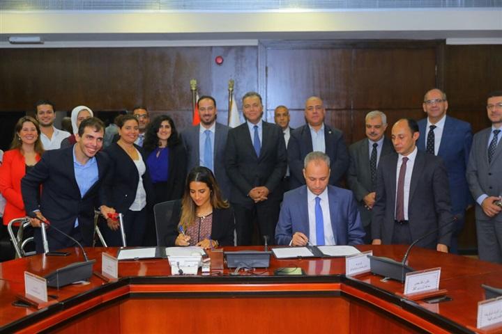 """وزير النقل يشهد توقيع مذكرة بين القومية للأنفاق ومؤسسة """"حلم وعزيمة"""""""