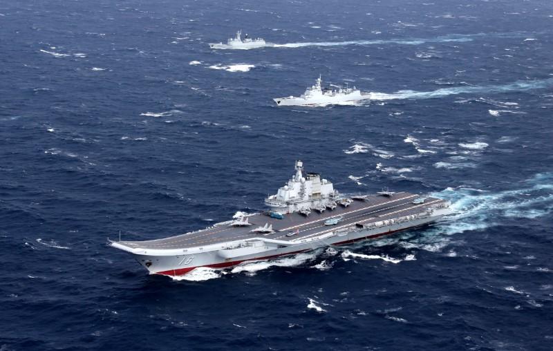 الصين تجري مناورة عسكرية بالقرب من مضيق تايوان