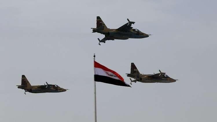 الطيران العراقي يدمر موقعين لتنظيم داعش في محافظة صلاح الدين