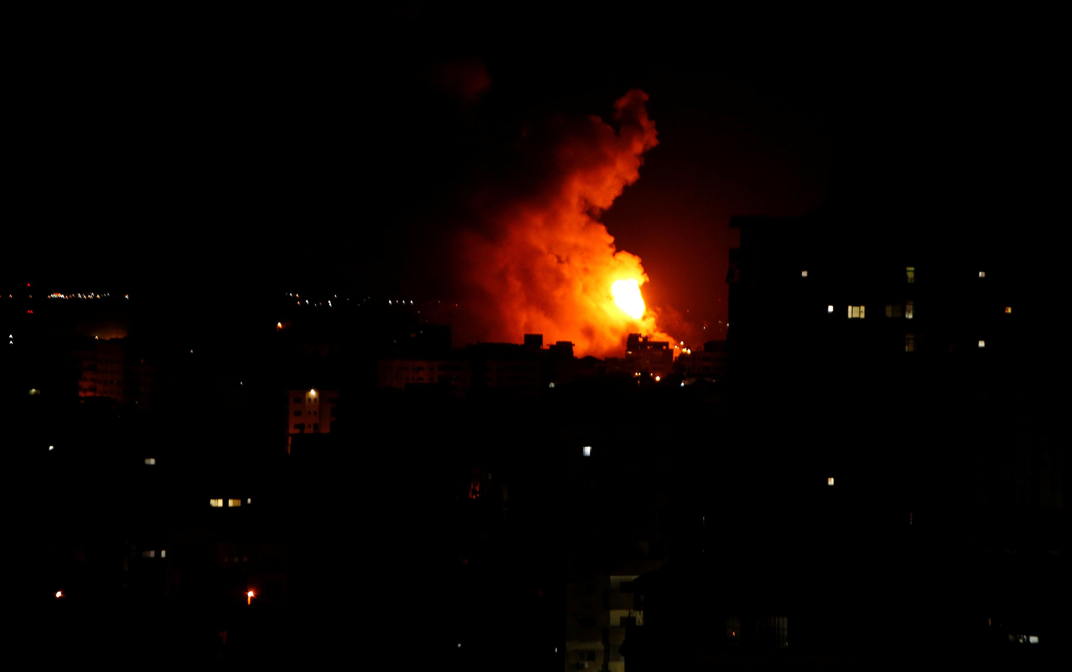 الفصائل الفلسطينيةتعلن وقف النار بعد جهود مصريه مكثفه