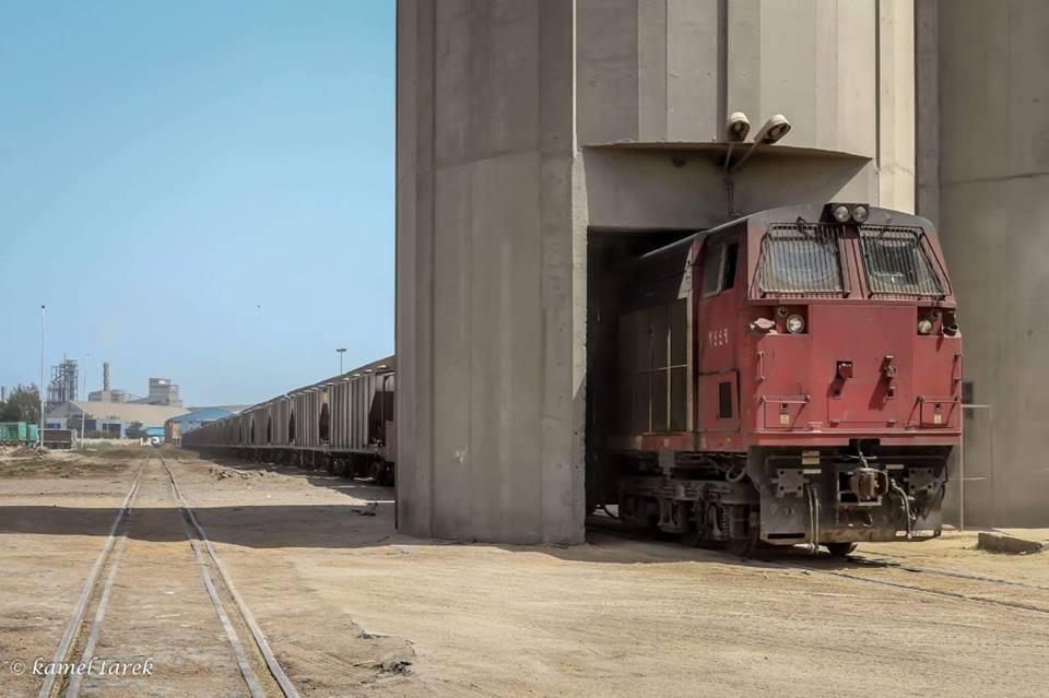 حركة قطارات البضائع بميناء دمياط خلال الـ 24 ساعة الماضية