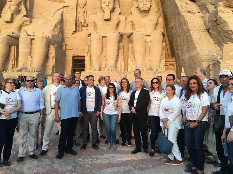 أمين «الأعلى للآثار» : تعامد الشمس حضره أكثر من 26 سفيرا من 16 دولة