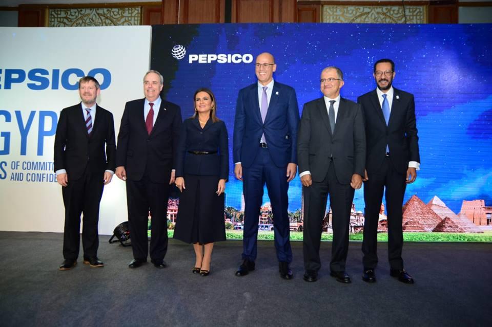 سحر نصر تشهد إعلان شركة بيبسيكو ضخ استثمارات جديدة بقيمة 515 مليون دولار