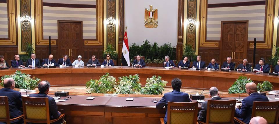 صور | تفاصيل لقاء الرئيس السيسي بوفد من ممثلي أكثر من 40 شركة أمريكية كبرى