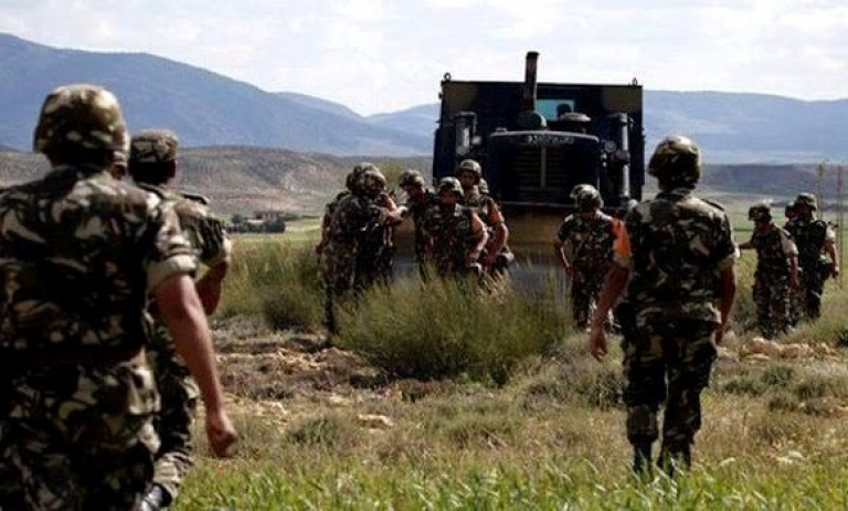وزارة الدفاع الجزائرية : كشف وتدمير 11 مخبأ للإرهابيين شمالي البلاد