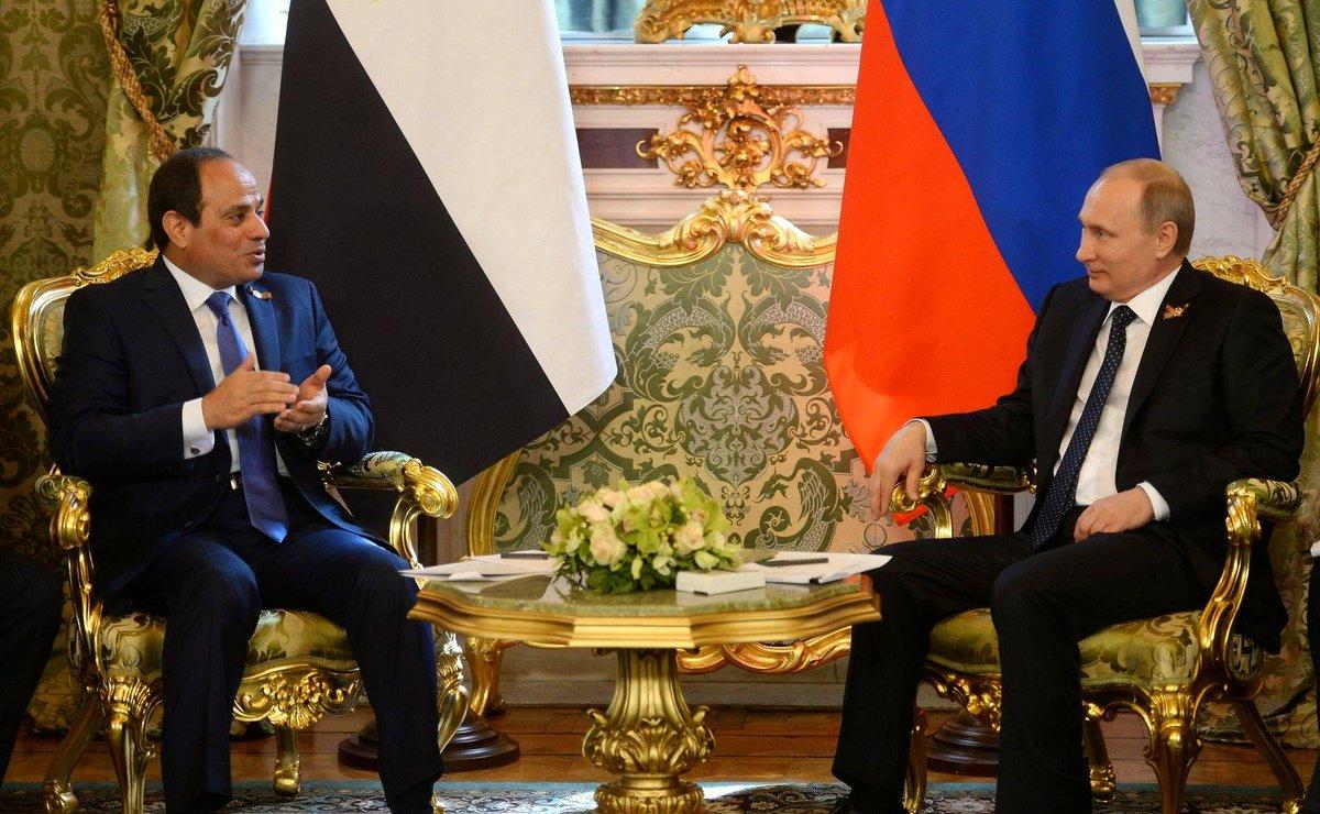 «الاستعلامات» : زيارة الرئيس لروسيا ستدشن مرحلة جديدة في العلاقات بين البلدين