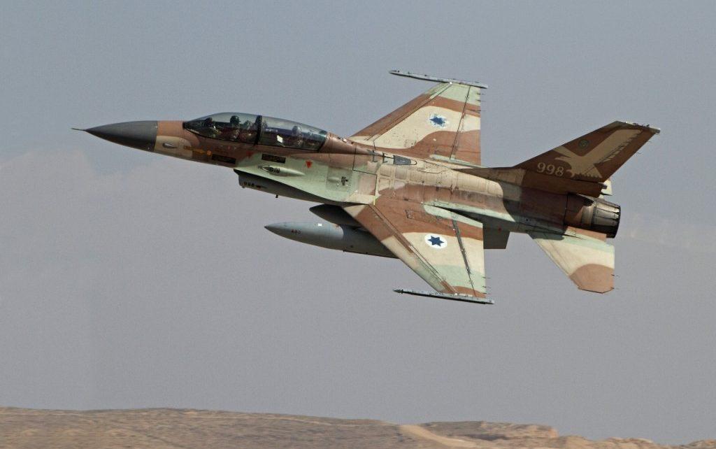 استشهاد 2 وإصابة 4 آخرين فى هجوم جوى إسرائيلى على حماة السورية