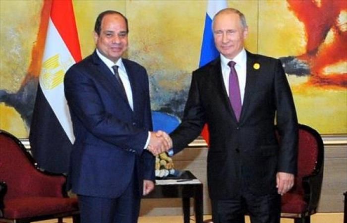 الرئيس السيسي يبحث هاتفيا مع بوتين العلاقات الثنائية وتطورات الأوضاع في ليبيا