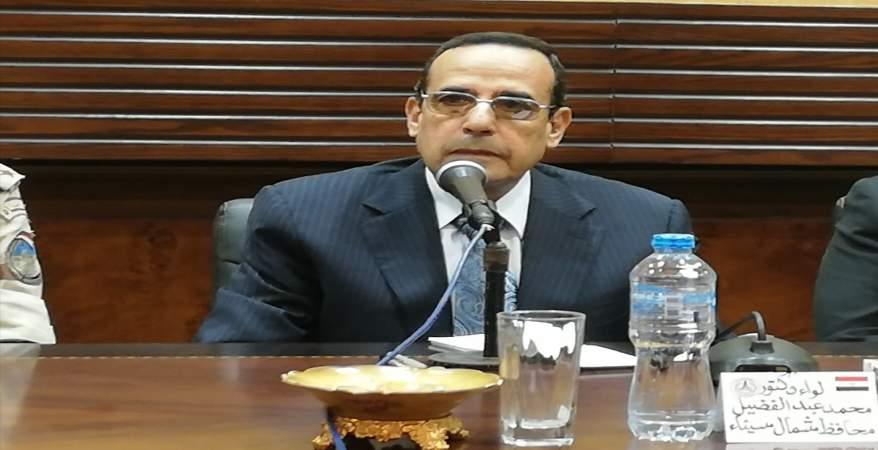 محافظ شمال سيناء : فحص 160 ألف مواطن ضمن مبادرة «100 مليون صحة»