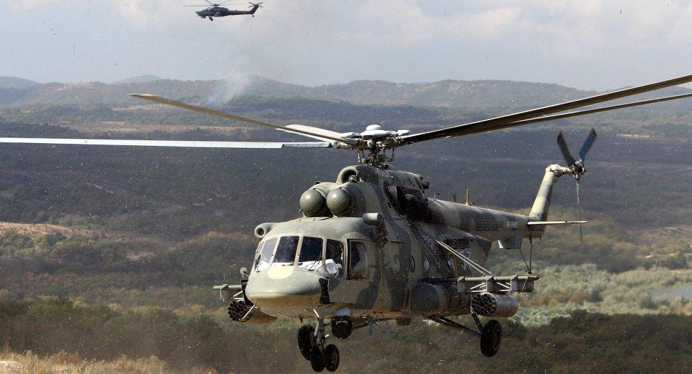 مصرع روسي في هبوط اضطراري لمروحية نقل