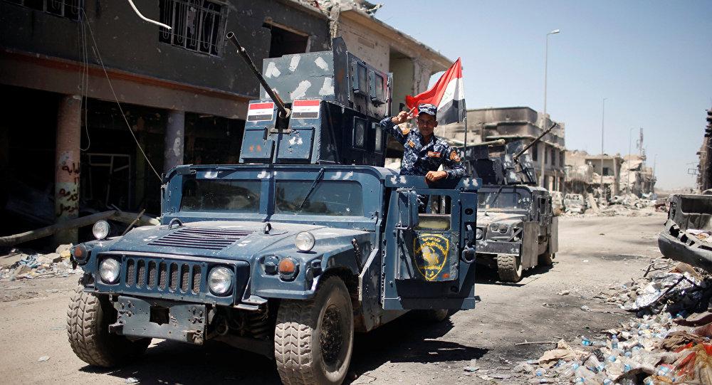 الشرطة العراقية : ضبط نفق لداعش يحتوي على أسلحة ومتفجرات في كركوك
