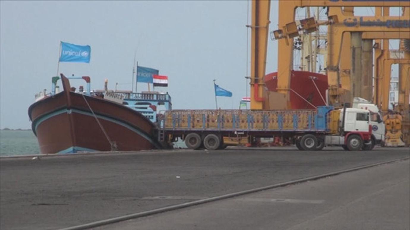 التحالف العربي : ميليشيات الحوثي لازالت تتعمد تعطيل دخول وتفريغ السفن