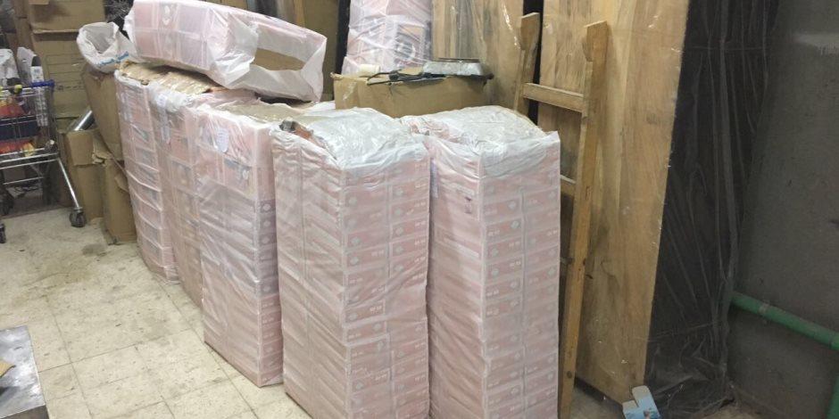 إحباط تهريب 40 ألف قطعة مستلزمات طبية مجهولة المصدر في ميناء الإسكندرية