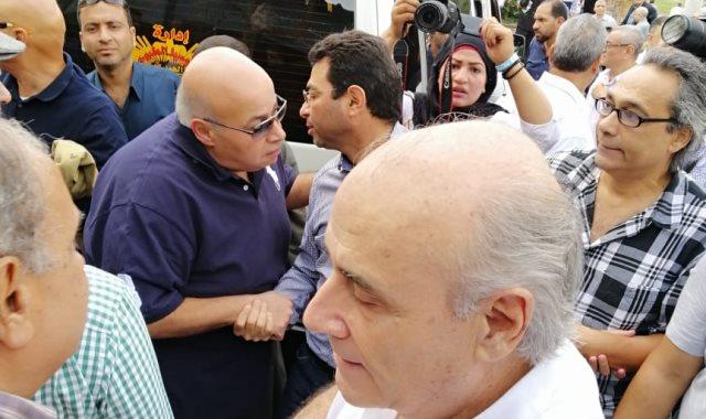 صور | غياب نجوم ماسبيرو عن جنازة الإعلامية القديرة نادية صالح