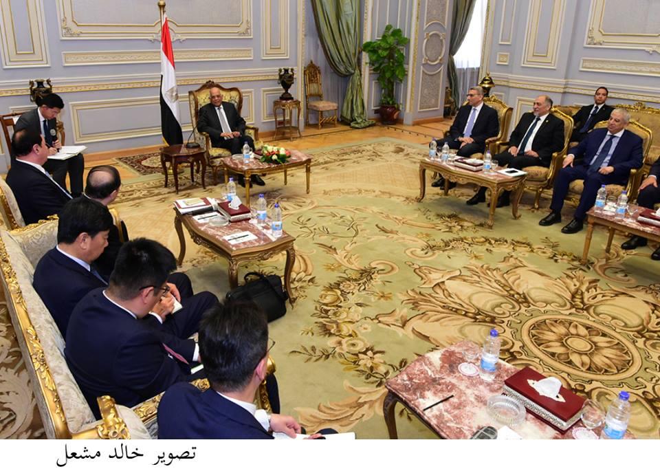 «عبد العال» : علاقاتنا مع الصين تاريخية وتطورت لمرحلة «الشراكة الاستراتيجية الشاملة»