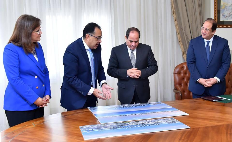الرئيس السيسي يتابع خطة الحكومة للاستفادة من أصول الدولة غير المستغلة