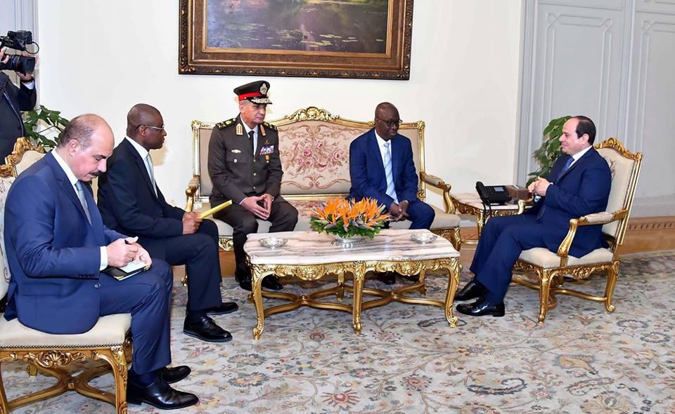 الرئيس السيسي : حريصون على تعزيز التعاون معغينيافي مختلف المجالات