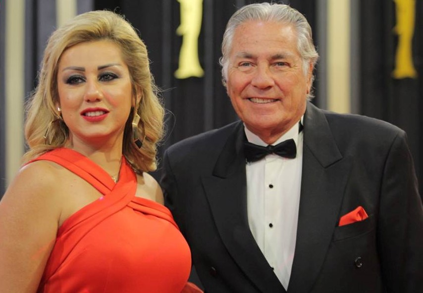 إطلالة مصطفى فهمي وزوجته تخطف أنظار الحاضرين في مهرجان القاهرة السينمائي