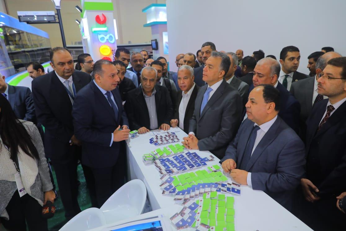 وزيرا النقل والمالية يشهدان إطلاق مسارات شركة «مواصلات مصر» على موقع جوجل