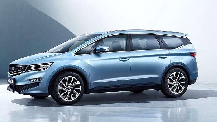صور وفيديو   شركة Geely الصينية ستطرح أول سيارة ميني فان عائلية