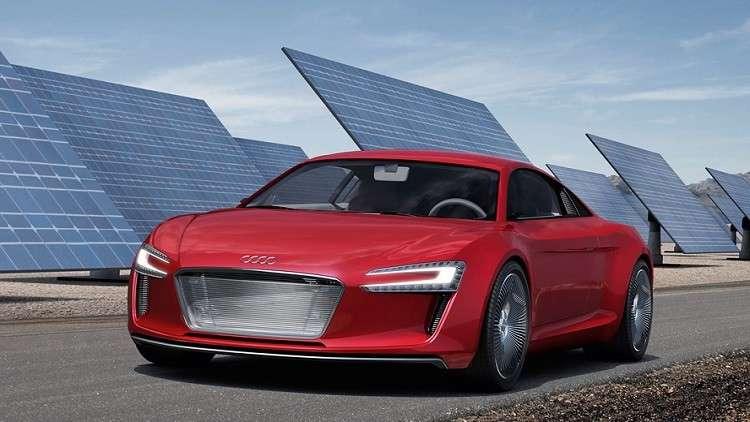 «أودي» تسعى لطرح أول سيارة كهربائيةفي معرض لوس أنجلوس