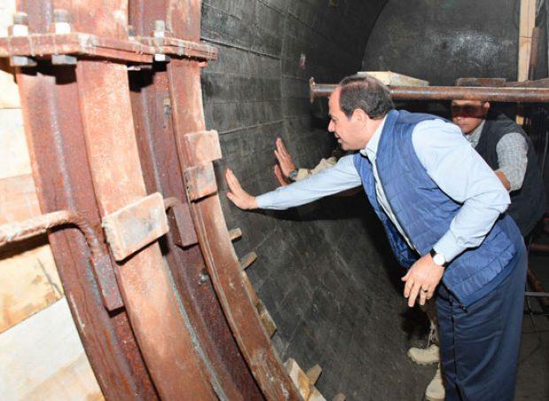 أنفاق قناة السويس.. عبور جديد يدشن عملية تنمية شبه جزيرة سيناء