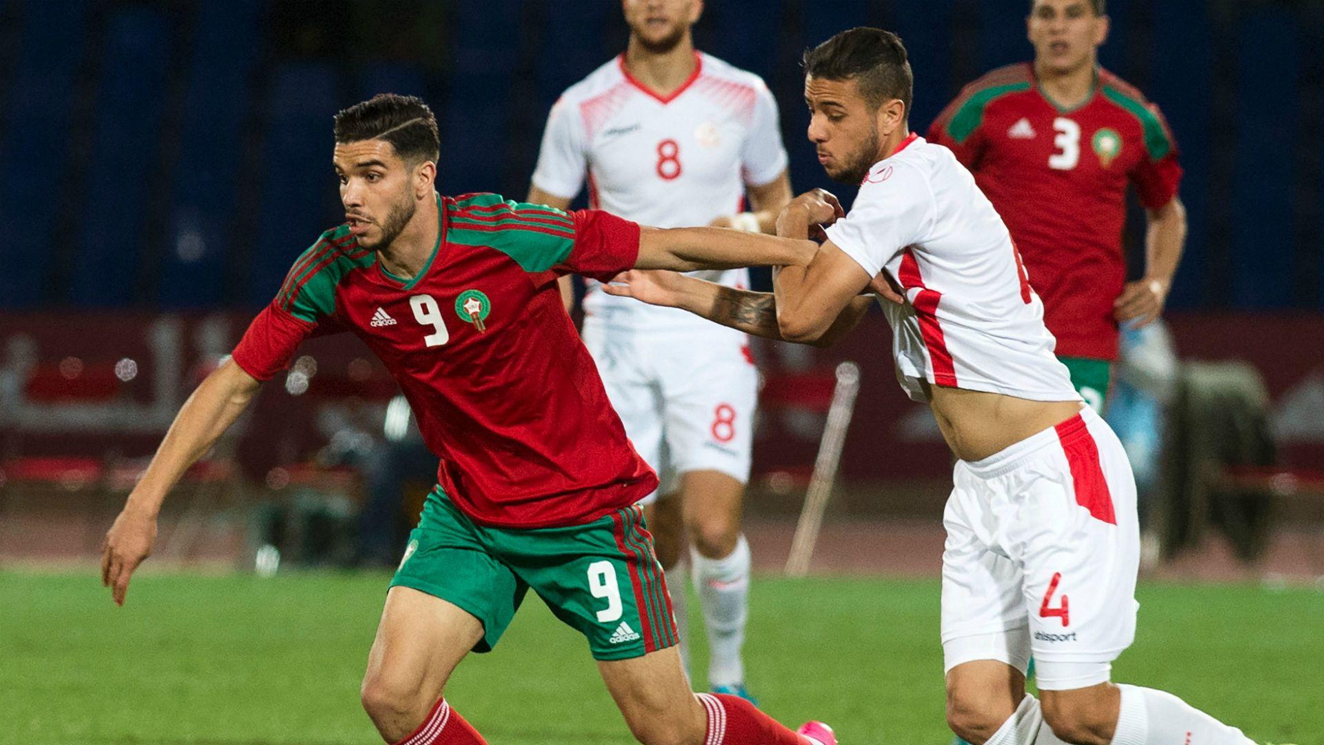 المغرب يفوز على تونس بهدف نظيف وديابمشاركة أزارو والنقاز وساسي