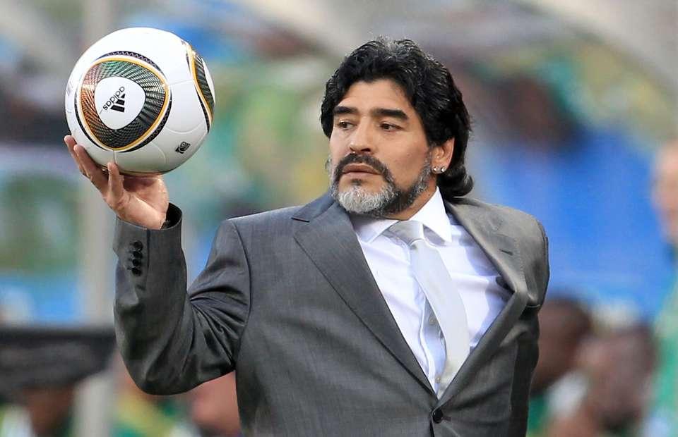 الاتحاد المكسيكي يفرض غرامة جديدة على مارادونا