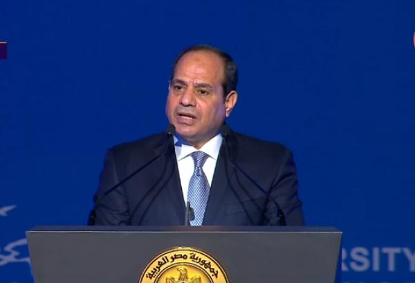 الرئيس السيسى يهنئ الشعب المصرى بذكرى المولد النبوى