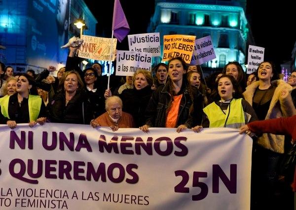 """إسبانيا تحتفل بـ""""اليوم العالمي للقضاء على العنف ضد المرأة"""""""