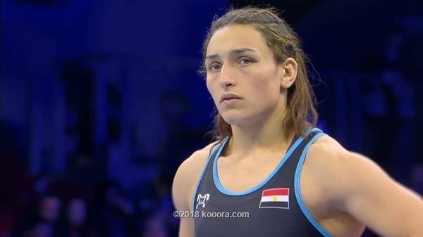سمر حمزة تودع بطولة العالم للمصارعة بخسارة أمام بطلة الصين