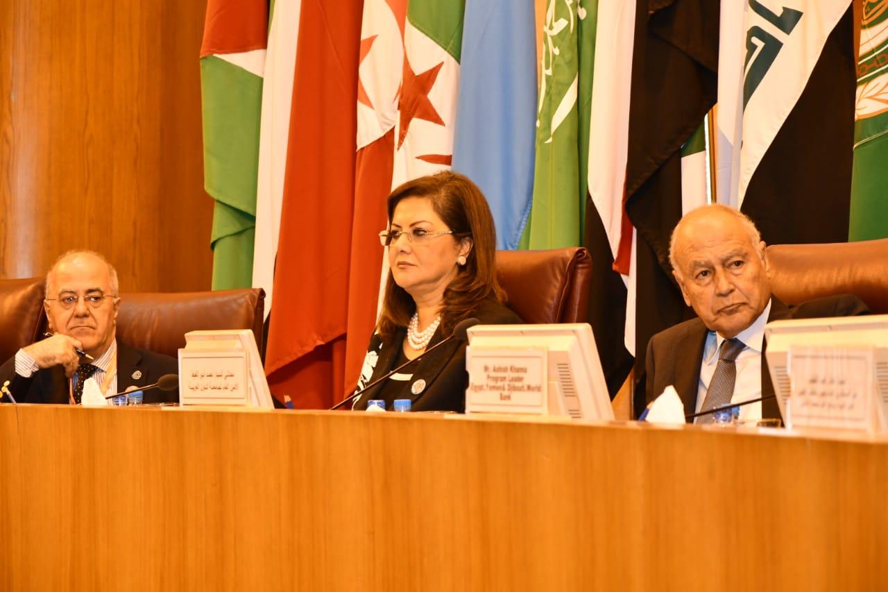 صور | وزيرة التخطيط : حريصون على مضاعفة الجهود من أجل تحقيق التنمية المستدامة