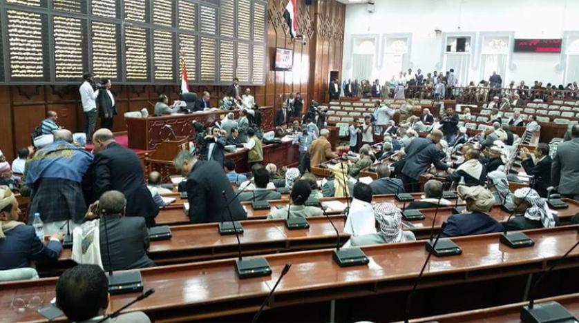 البرلمان اليمني يدعو مجلس الأمن لإيقاف العدوان الصهيوني وحماية الفلسطينيين