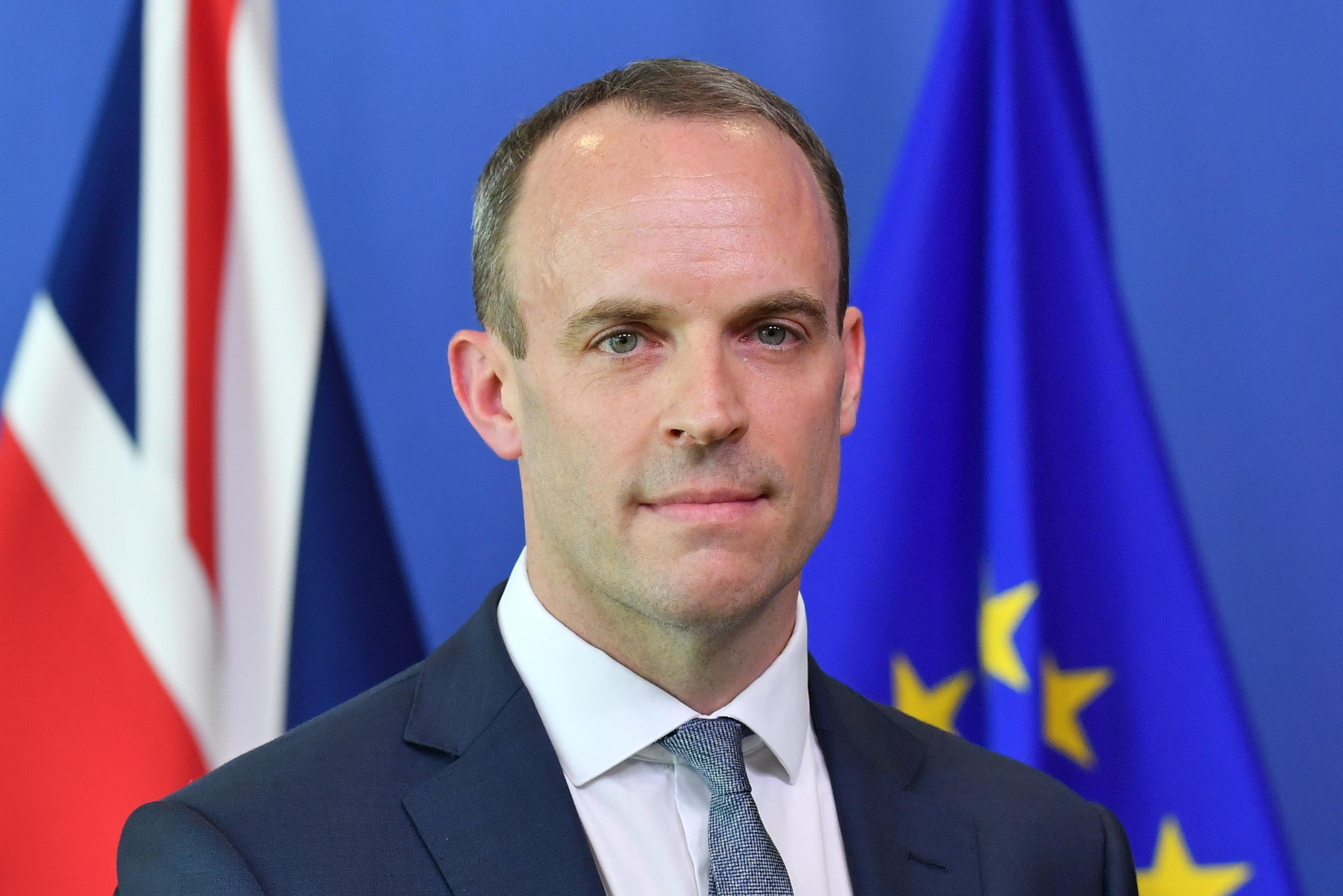 """وزير الخارجية البريطاني يحذر من الأسبوع الأخير للمفاوضات التجارية قبل """"البريكست"""""""