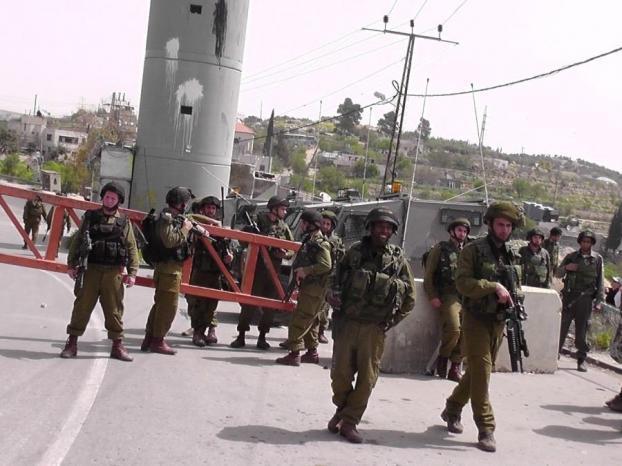 الاحتلال الاسرائيلى يمنع صلاة الجمعة فى أراضى قرية حارس